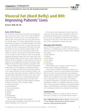 Visceral Fat (Hard Belly) and HIV: Improving Patients' Lives