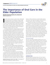 Oral Health Training For CMs